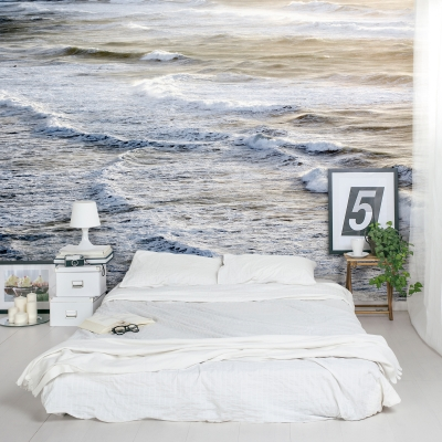 Infinite Sea Wall Mural
