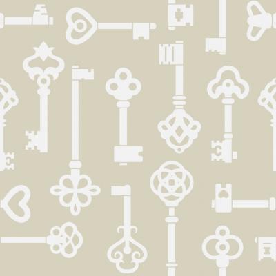 Keys Removable Wallpaper Tiles