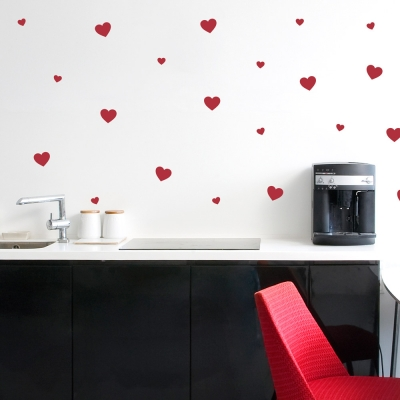 Love Hearts Wall Decal