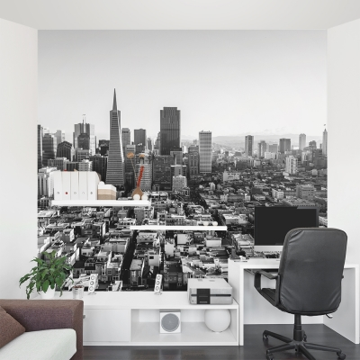 City View Wall Mural