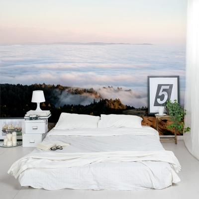 Rolling Clouds Wall Mural