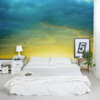 New Day Wall Mural