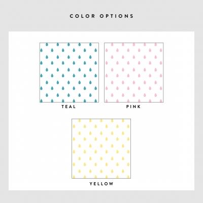 Rain drop Removable Wallpaper Tile Colors