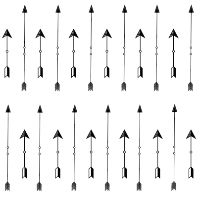 Tribal Arrows Removable Wallpaper Tiles