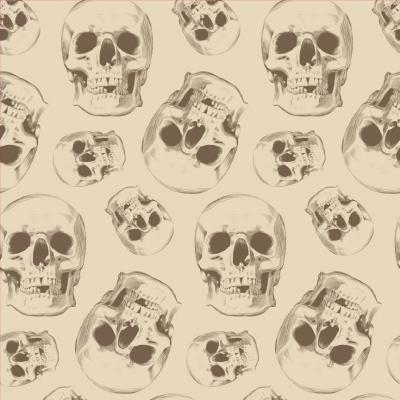 Skull Removable Wallpaper Tiles