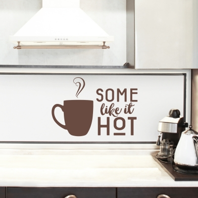 Some Like It Hot Wall Decal