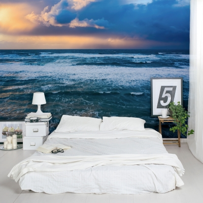 Storm over the Mediterranean Wall Mural