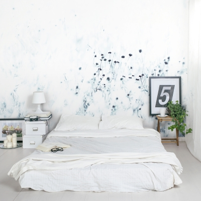 Syrian Thistle Wall Mural