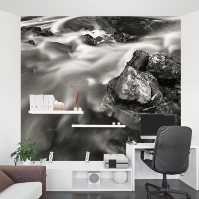 The Stream Wall Mural
