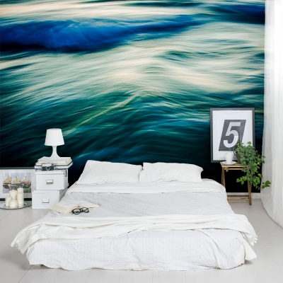The Uniqueness of Waves Wall Mural