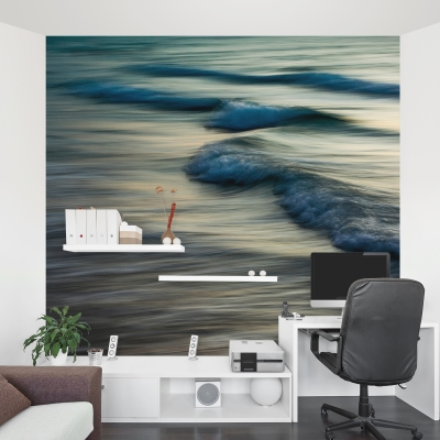 Waves 2014 Wall Mural
