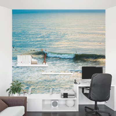 Winter Surfing II Wall Mural
