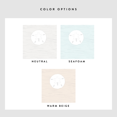 Sand Dollar Removable Wallpaper Colors