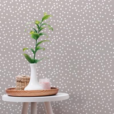 Snow Dots Removable Wallpaper Tiles