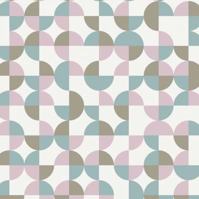 Circle Pie Removable Wallpaper