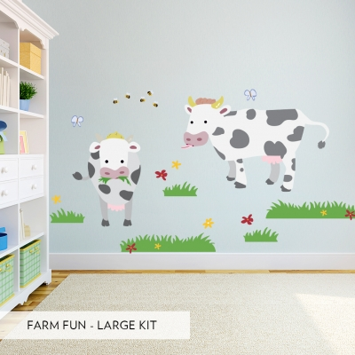 Farm Fun Large Decal