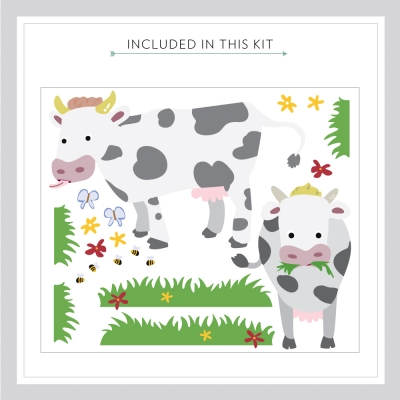 Farm Fun Decal Kit