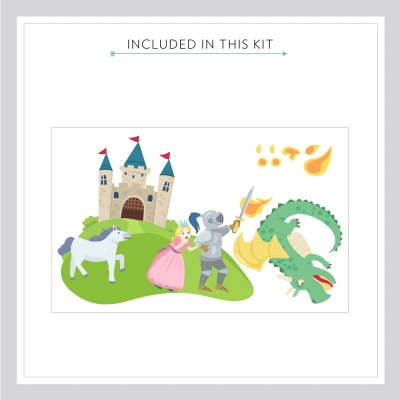 Castle Decal Kit