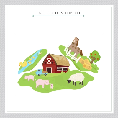 Barn Family Decal Kit