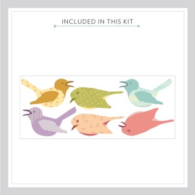Cutesy Birds Decal Kit