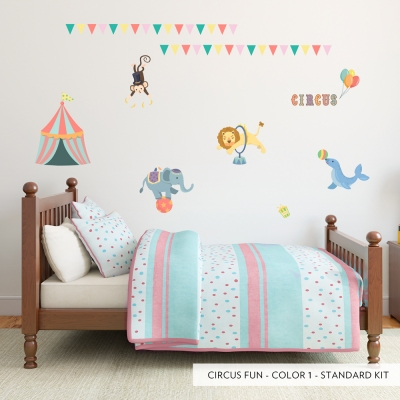Circus Fun Printed Wall Decal