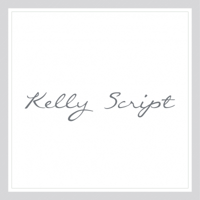 Kelly Script - Custom Text Wall Decal