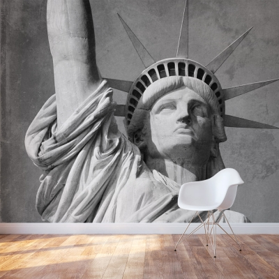 Statue Of Liberty Accent Wall Mural
