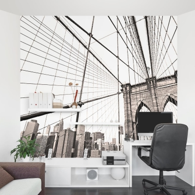Brooklyn Bridge Wall Mural