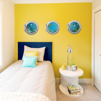 Sea Portholes Printed Wall Decal