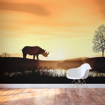 Safari Wall Mural
