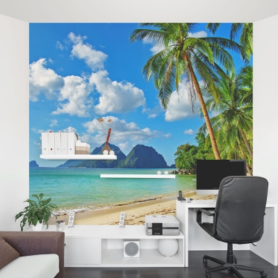 Tropical Paradise Mural