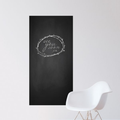Chalkboard Wall Decal 24 x 48 Sheet