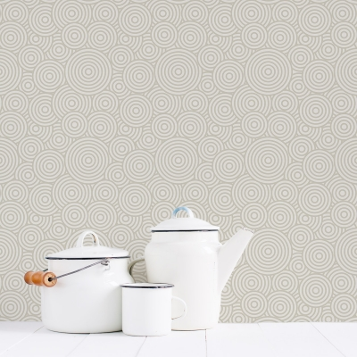 Swirl Removable Wallpaper Tile