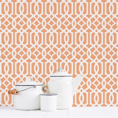 Trellis Removable Wallpaper Tiles