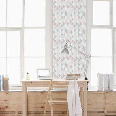 Kaleidoscope Triangles Removable Wallpaper Tile