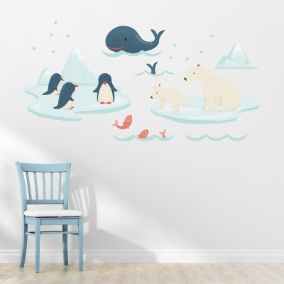 Alaska Friends Wall Decal