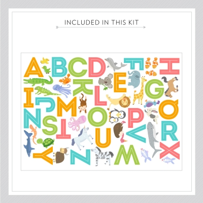 Alphabet Animals Kit
