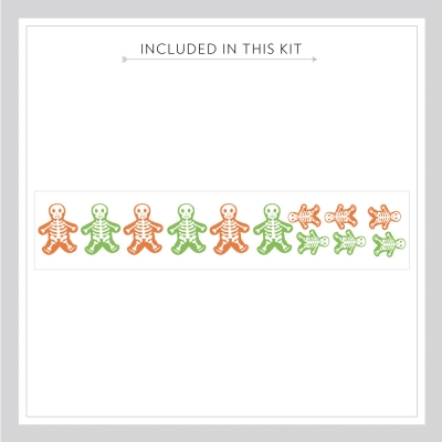 Cute Reusable Skeletons Kit