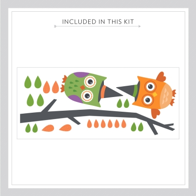 Halloween Owls Kit