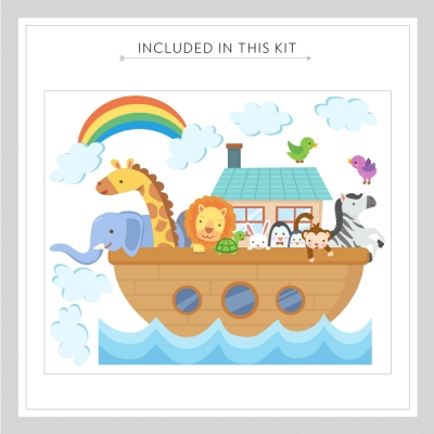 Noah's Ark Decal Kit