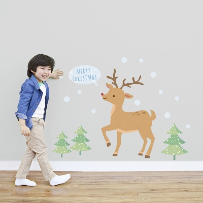 Rudolph Standard Printed Wall Decal