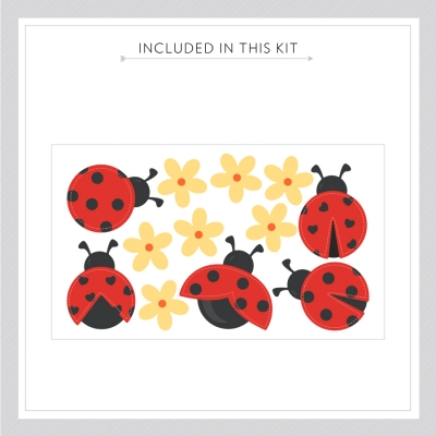 Cute Ladybugs Kit