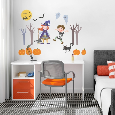 Halloween Party Printed Wall Decal