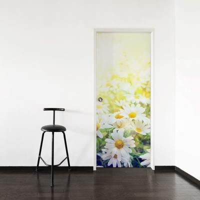 Spring Daises Door Mural