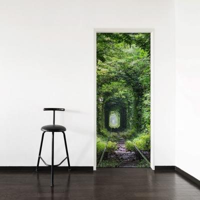 Tunnel Of Love Door Mural