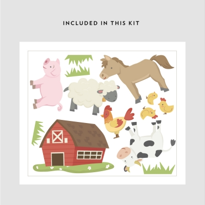 Barn Yard Animals Kit
