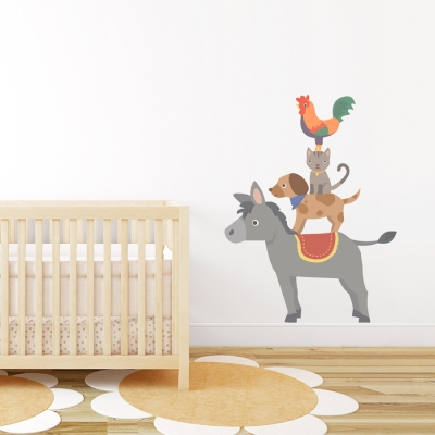 Bremen Friends Standard Printed Wall Decal
