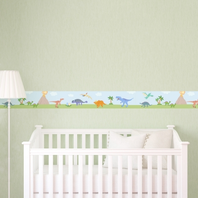 Dino Removable Wallpaper Border