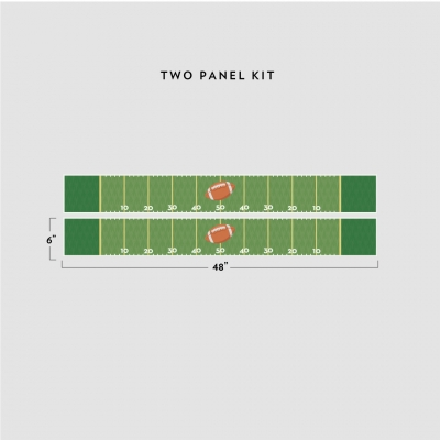 Football Removable Border Kit