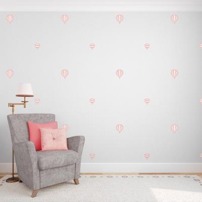 Mini Hot Air Balloons Standard Printed Wall Decal